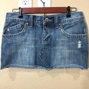 Roxy Denim Mini Skirt